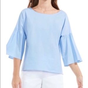 NWT Vince Camuto Bell Sleeve Blouse
